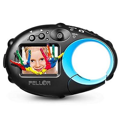 PELLOR Kids Action Camera Children's HD Mini Digital Video Recorder Camcorder