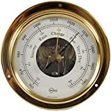 Barigo Tempo S Brass Barometer