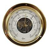 Barigo Schiffsbarometer Barometer Tempo S messing analog