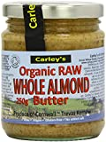 Carley's Organic Raw Almond Butter, 250g