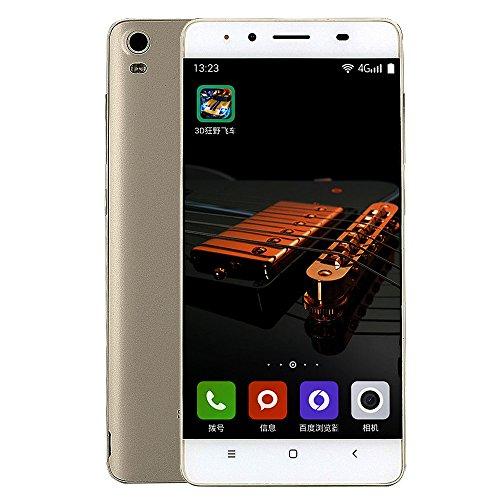 MYQyiyi Smartphone Libre Android 6.0,Teléfonos Móviles Libres Dual SIM Tarjetas (Plata)