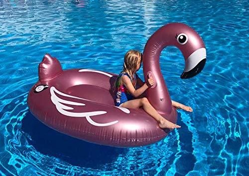 r Flamingo Luftmatratzen. Aufblasbarer Flamingo Pool Floß Durch Integrity Co (X-Large) ()