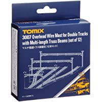 TOMIX N gauge 3007 double track multi-truss overhead wires columns (12 sets) (japan import) - Multi Wire