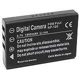 Otech D012SB Batterie pour Appareil Photo Numérique de type Casio NP-30 NP60 3,7 V 1200 mAh