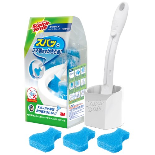 3-sponge-pieces-replacement-t-557-3hc-sumitomo-3m-scotch-brite-tm-with-detergent-toilet-cleaner-repl