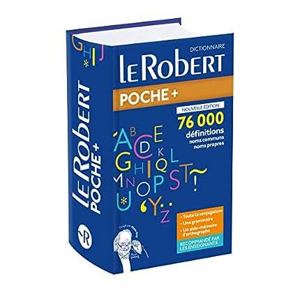 Dictionnaire Le Robert Poche Plus - Nouvelle Édition 2020