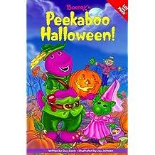 Barney's Peekaboo Halloween by Scholastic (1999-08-01)