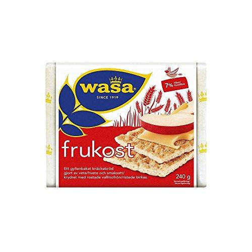 Wasa Biscottate Grano Frukost Con Semi Di Papavero (240g) (Confezione da 2)