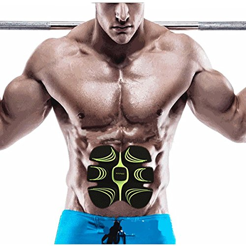 ShopSquare64 Fitpad Smart Electronic ABS Abdominal Muskelaufbau AusrüStung Body Shaper Fitness Gel Tape Gürtel