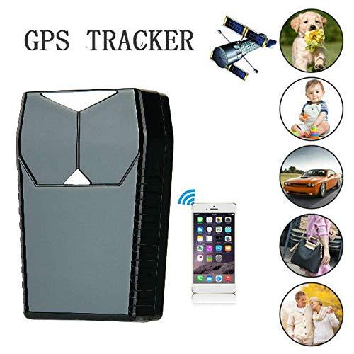 LKJCZ Mini Coche Impermeable GPS Tracker GPS/gsm/GPRS Tracker Coche Antirrobo Oculto Portátil...