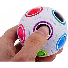 Fidget Pelota Switchali 2017 popular Arco iris magia bola Arco iris Hand Spinner Fidget Juguete Anti Ansiedad para Niños y Jóvenes Adultos Juguete Educación Juguetes de Aprendizaje - Juego Sensorial Hand Spinner Adolescentes para aliviar el estrés -- barato