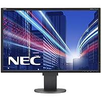 NEC Multisync EA304WMi 75,7cm 29,8Zoll TFT W IPS W-LED 2560x1600 DVI-D VGA HDMI DP speaker 130 mm hoehenverstellbar schwarz