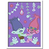 Ravensburger - 28034 - Numéro D'Art Petit Format Poppy Et Branch Trolls - Artistique