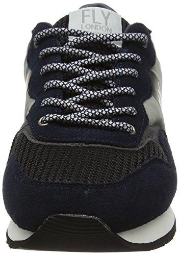 Fly London Pecu840fly, Baskets Basses Homme Bleu (Blue/grey/black 002)