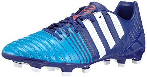 adidas Nitrocharge 3.0 FG Herren Fußballschuhe, Mehrfarbig (Amazon Purple F14/FTWR White/Solar Blue2 S14), 40 2/3