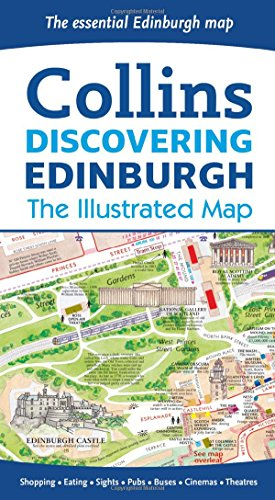 Discovering Edinburgh Illustrated Map por Dominic Beddow, Collins Maps