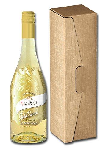 Himmlisches Tröpfchen Goldsecco in Geschenkverpackung (1 x 0.75 l)