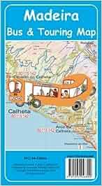 Madeira Bus & Touring Map 4th Edition 2012: Amazon.de