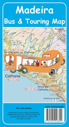 Madeira Bus & Touring Map 4th edition