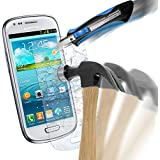 DeinPhone coque de protection pour samsung galaxy s3 mini écran de protection verre trempé anti-rayures transparent épaisseur