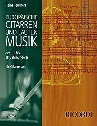 Europäische Gitarren- und Lautenmusik