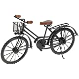 Home Styling Collection Garten Deko Fahrrad mit Korb 48x27x12 cm