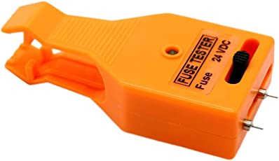 Homyl 1 Stück Sicherungstester Prüfvorrichtung-Prüfer-Entferner 24V Automobil LED