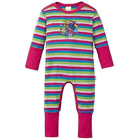 Schiesser Baby Anzug mit Vario-Pijama de dos piezas Bebé-Niñas,
