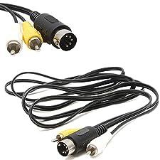 Mega Sega Antriebs MD 1 Cinch AV Audio Video Blei A/V TV Kabel