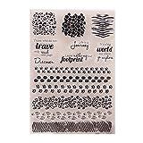 Suweqi Transparent Stempel - DIY Handwerk Silikon Clear Stamps Für Album Foto Sammelalbum Präge Scrapbooking