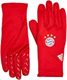 adidas Herren FC Bayern Fieldplayer Gloves Spielerhandschuhe, FCB True red/White, L