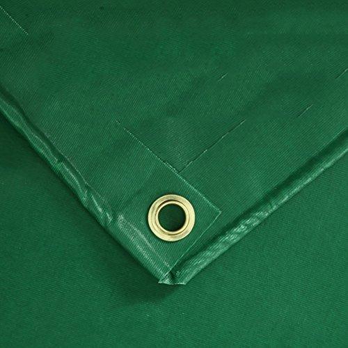 XUEYAN Verdicken Sie Rainproof Falle-Boden-Blatt-Abdeckungen Schuppen-Tuch-Wasserdichte Hochleistungsplane-im Freien Sunscreen-Zelt-Spleiß-Markise Sun Shade-Green, 450G / M² (größe : 3 * 3m)