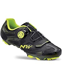 Northwave Scorpius 2 Plus - Zapatillas - amarillo/negro 2017