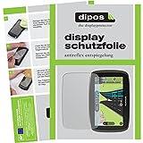 dipos TomTom Start 50 Schutzfolie (3 Stück) - Antireflex Premium Folie matt