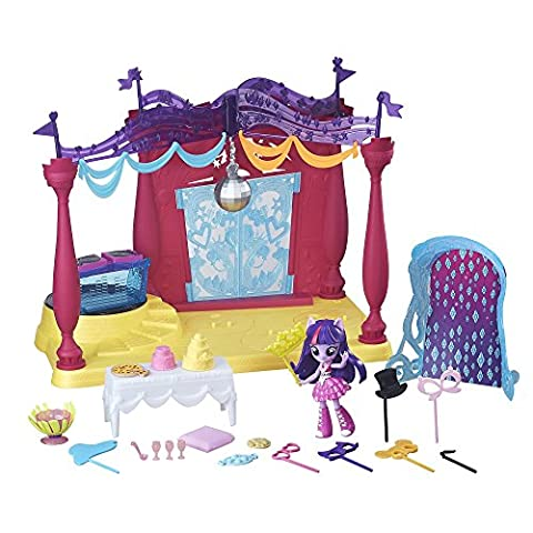 My Little Pony Equestria Girls Minis Canterlot High Dance Playset with Twilight Sparkle Doll by My Little Pony Equestria Girls