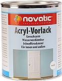 novatic Acryl-Vorlack, weiß