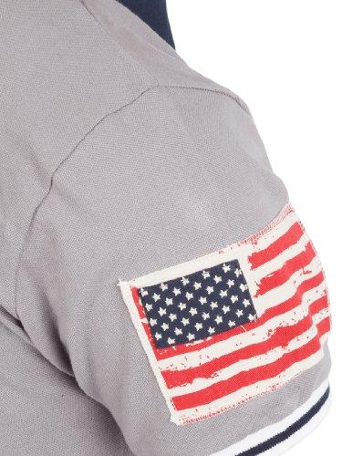Ultrasport Fort Lauderdale Collection Herren Poloshirt Key West Grey