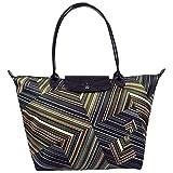 Longchamp OpArt Shopper Tasche Khaki Größe Small Limited Edition
