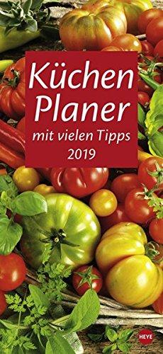 Küchenplaner - Kalender 2019