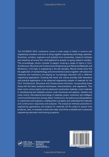 Advances in Civil, Architectural, Structural and Constructional Engineering: Proceedings of the International Conference on Civil, Architectural, ... Busan, South Korea, August 21-23, 2015