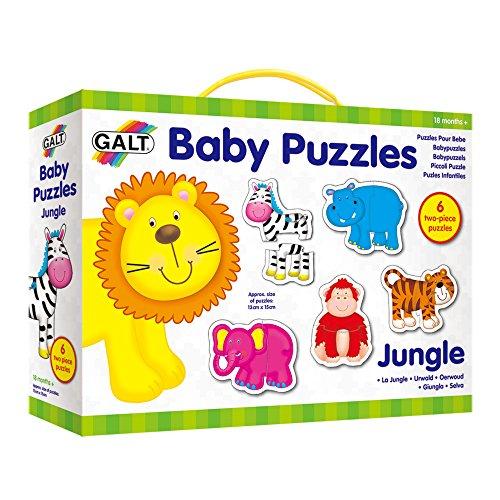 Galt GA1003031 Baby Puzzles - Puzle de animales de la selva