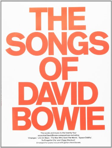The Songs of David Bowie (Piano Vocal Guitar)