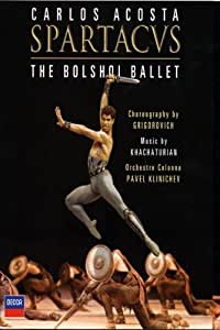 Spartacus: The Bolshoi Ballet [Blu-ray] [2008]