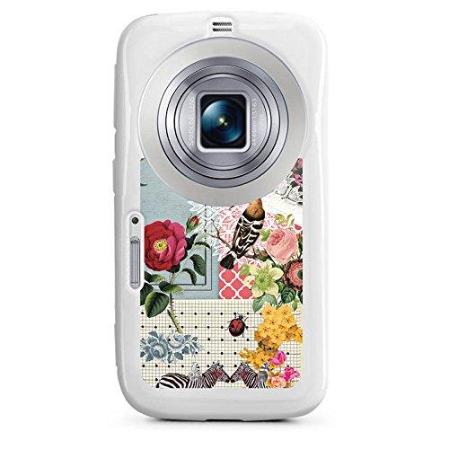 DeinDesign Samsung Galaxy K Zoom Hülle Silikon Case Schutz Cover Collage Frühling Tiere