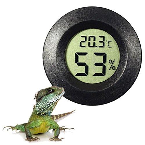 Binglinghua Digitale termometro e igrometro per Uovo Incubatrice, rettili terrario e Acquario, Calibro Digitale per Temperatura Interna e umidità, Cruz V2 Fresh Foam