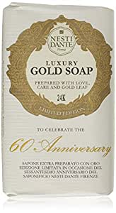 Nesti Dante 60th Anniversary Natural Soap Gold Leaf Seife, 250 g