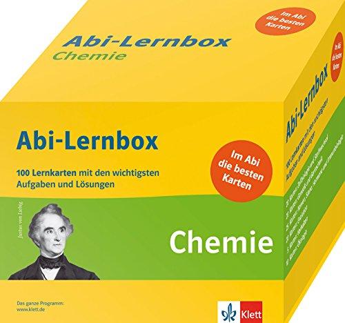 Preisvergleich Produktbild Klett Abi-Lernbox Chemie: 100 Lernkarten mit den wichtigsten Aufgaben fürs Abitur