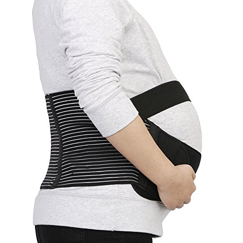 Maternity Support Belt - IntiPal Pregnancy Belts - Waist Back Abdomen Belly Band Brace Test