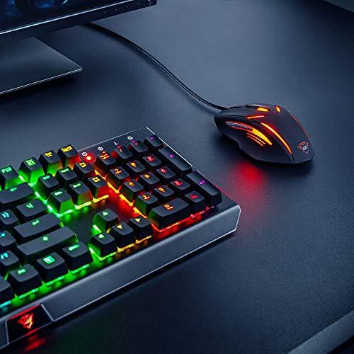 70a098c9e1c Trust GXT 152 Gaming Mouse Illuminato con 6 Tasti e 2400 DPI
