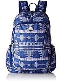 Roxy Alright - Mochila casual, color azul, 25 litros, 40 cm